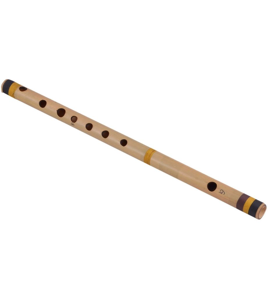 SG Musical Scale G Natural 47 cm, Finest Indian Bansuri, Bamboo Flute