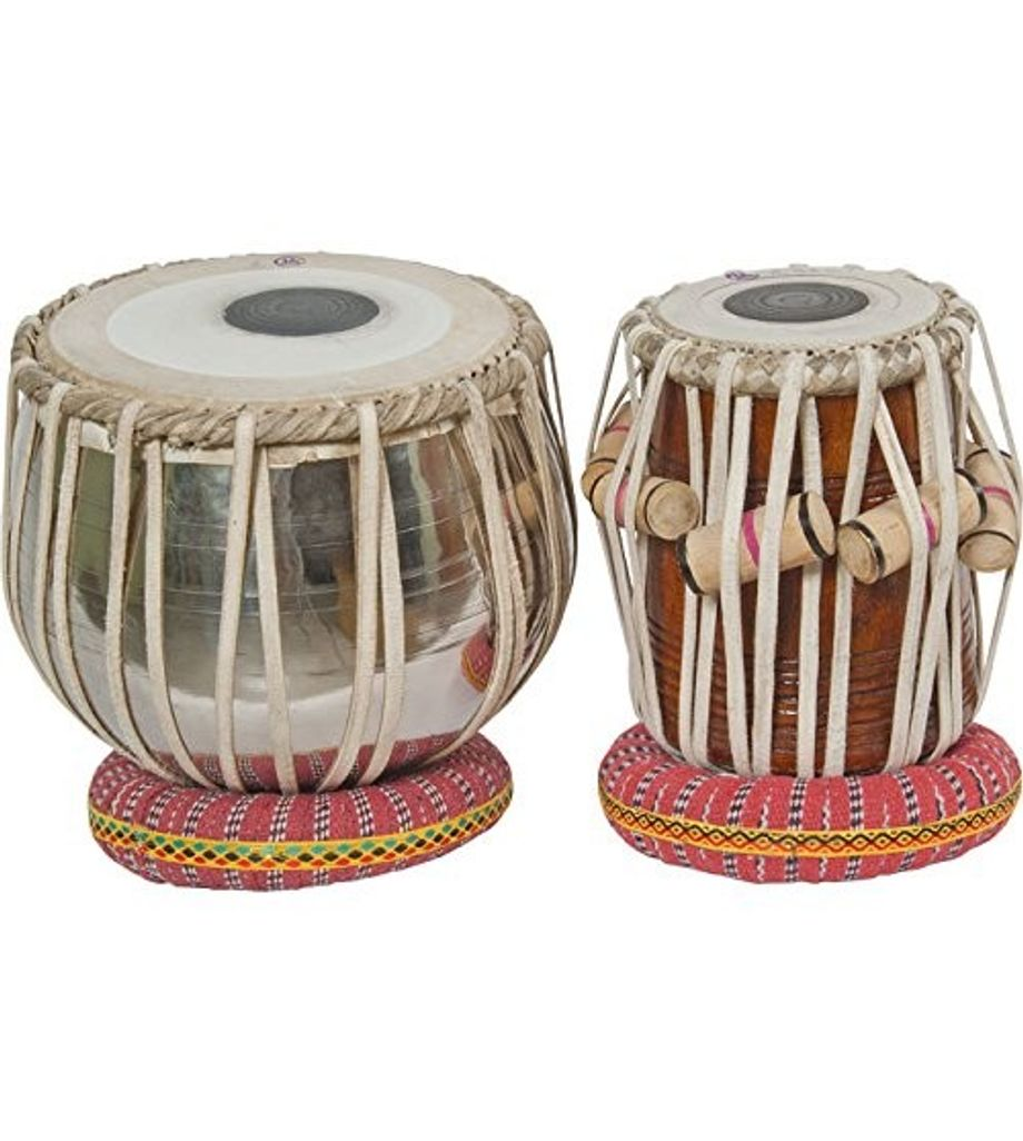 SG Musical Student Tabla Set Steel Bayan Sheesham Dayan