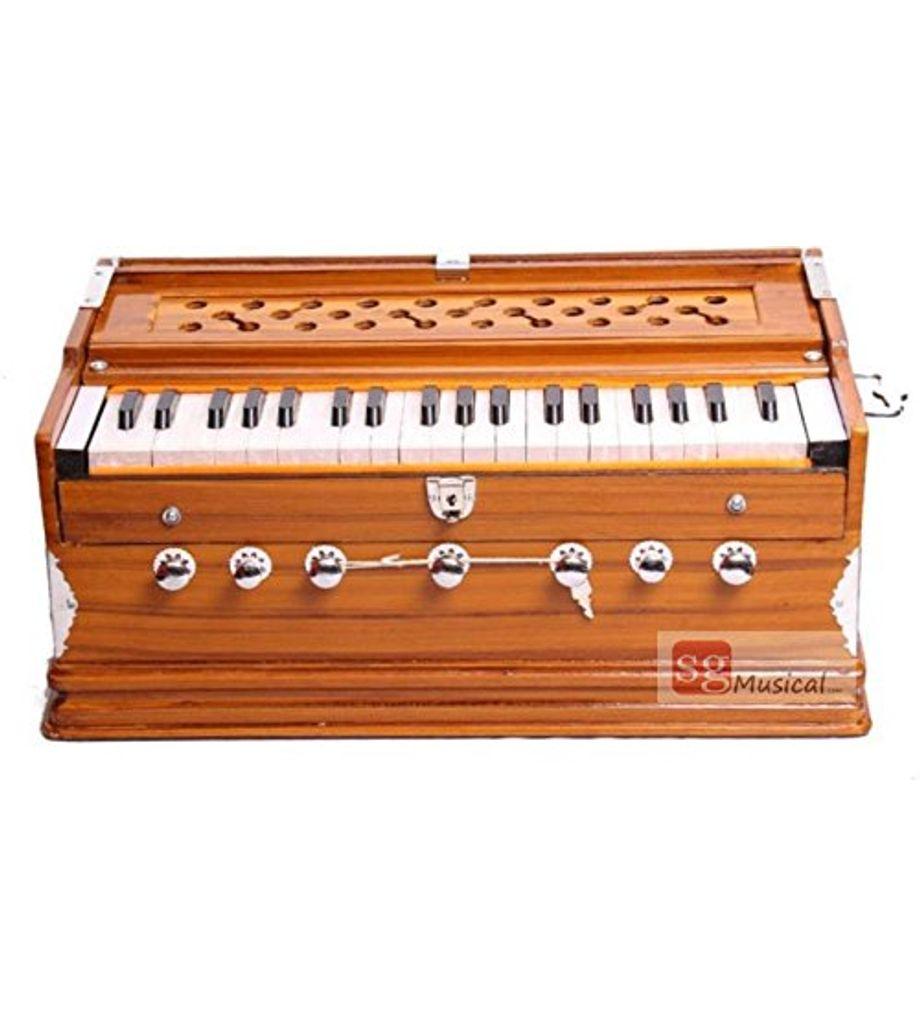SG Musical - Yellow Teak - Octave Harmonium