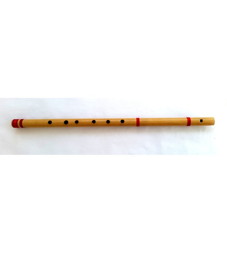SG Musical Scale G Natural 44cm, finest indian Bansuri, Bamboo Straight Flute
