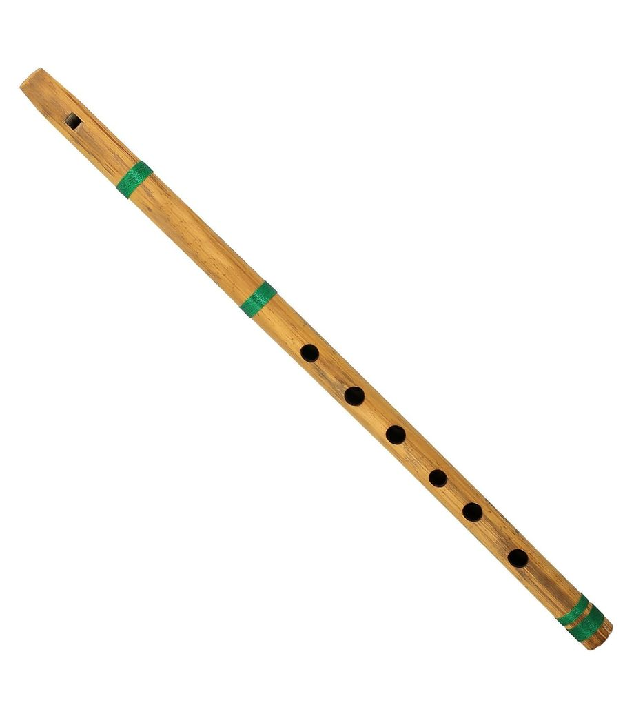 SG Musical Indian Music Instrument Bamboo Flute Bansuri Fipple Type