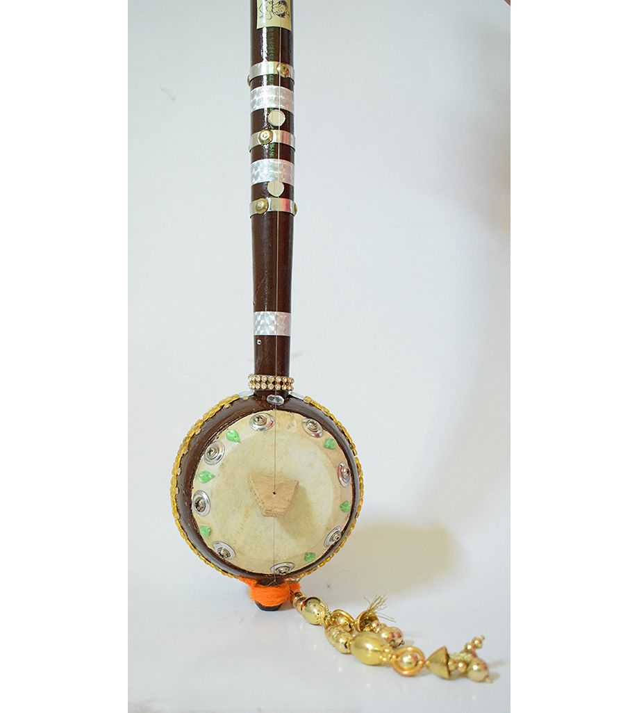 SG Musical Mira Bai's - Ektara Single String Indian Folk Musical Instrument