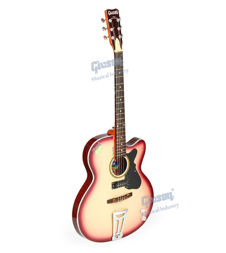 Crown Rose 2K10 (With Pick Up) 6 String Accoustic Spanish guitar (Round Hole)