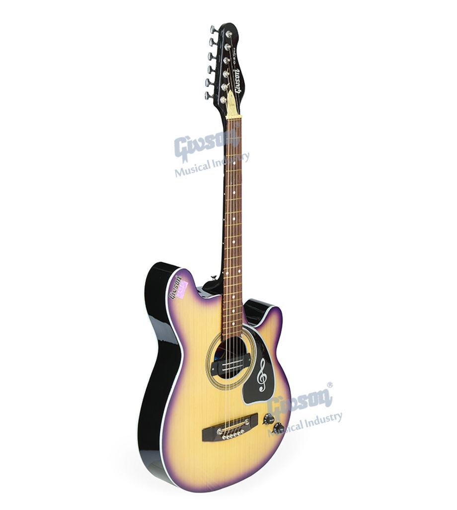 D.B.Spica (Both side Cut-A-Way, with Pick Up) 6 String Accoustic Spanish Guitar (Round Hole)