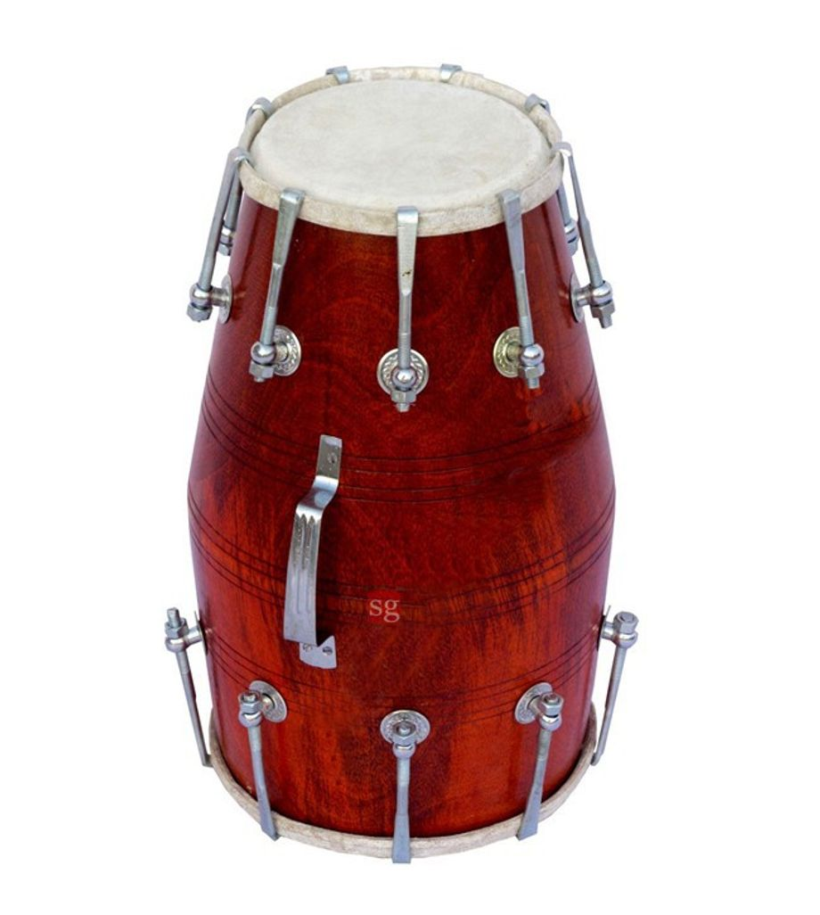 SG Musical Sandli Nut Bolt Dholak Free Carry Bag