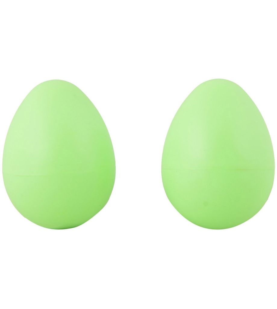 SG MUSICAL Egg Shakers, Green