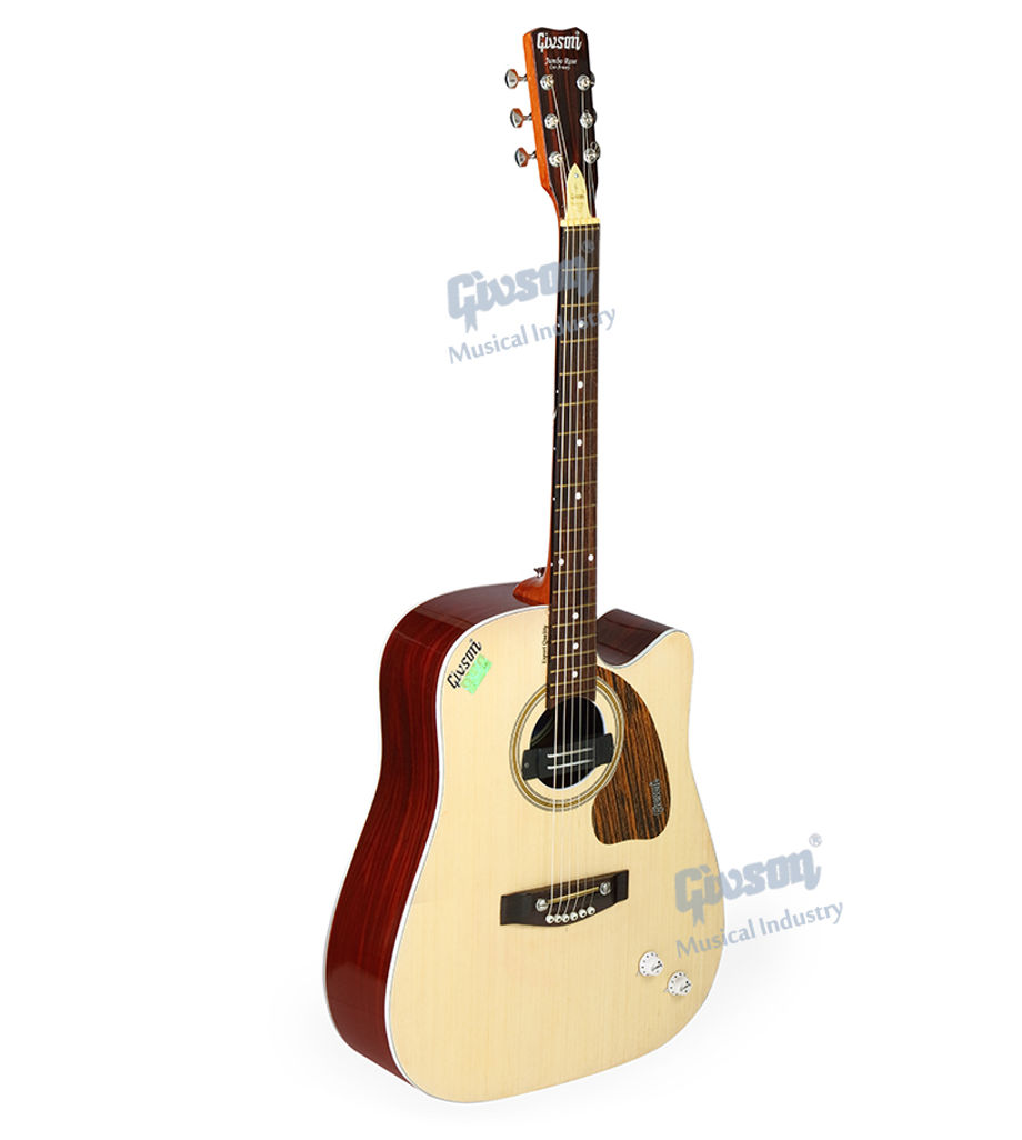 Jumbo (Rose Wood, Cut-A-Way with Pick Up,E.Q.) 6 String Accoustic Spanish guitar (Round Hole)