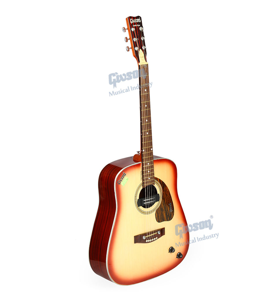 Jumbo (Rose Wood with Pick Up, Export Quality) 6 String Accoustic Spanish guitar (Round Hole)