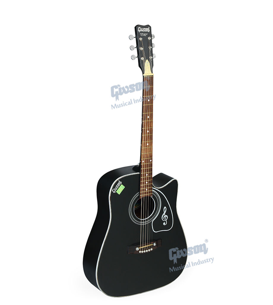 Jumbo (Special, Cut-A-Way) 6 String Accoustic Spanish guitar (Round Hole)