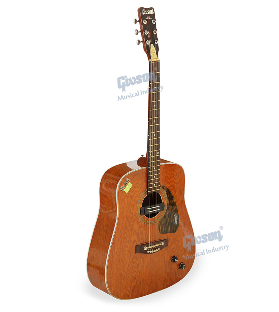 Jumbo (Super Spl. Tiger Wood with Pick Up,E.Q.) 6 String Accoustic Spanish guitar (Round Hole)
