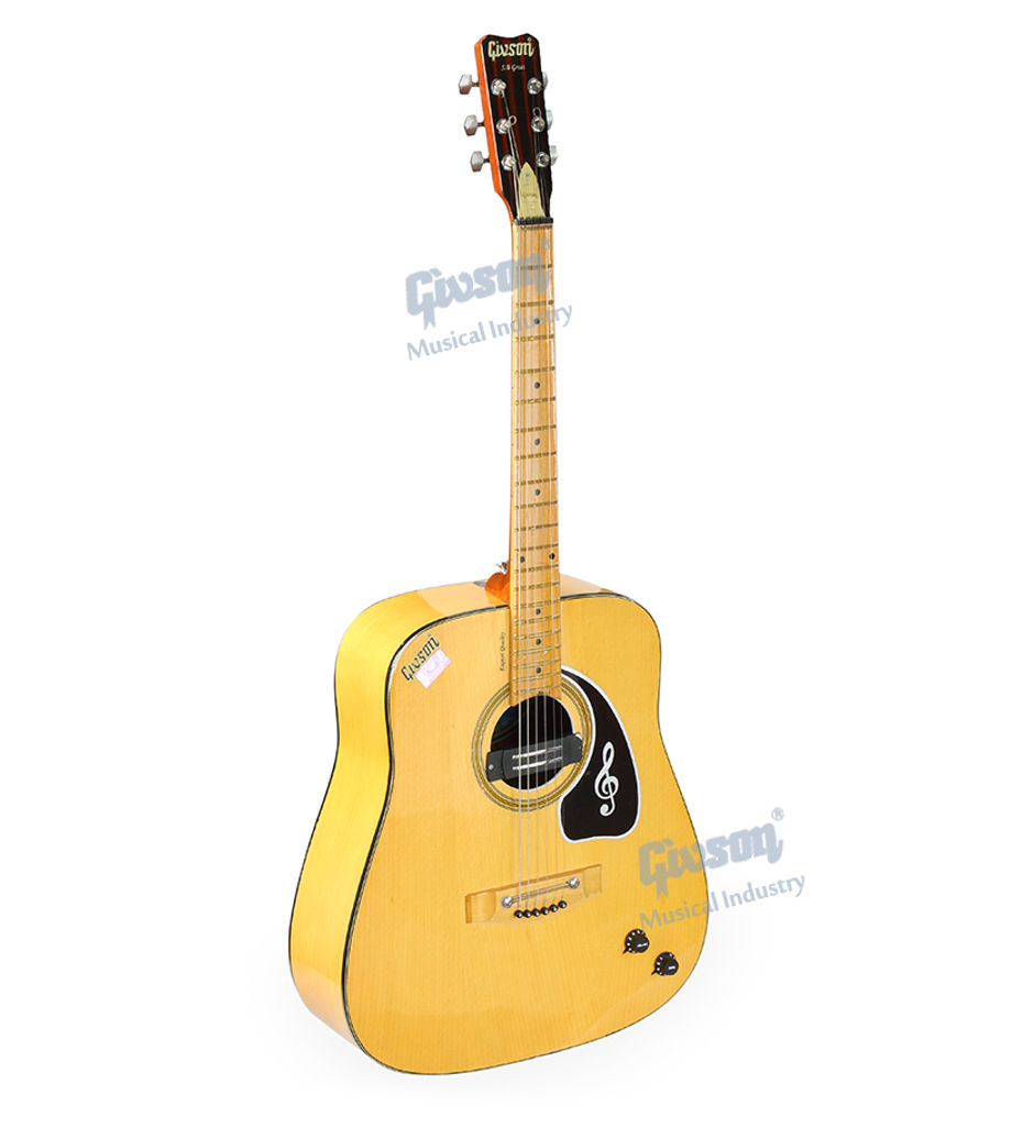 S.B. Great (Beech Wood with Pick Up) 6 String Accoustic Spanish guitar (Round Hole)
