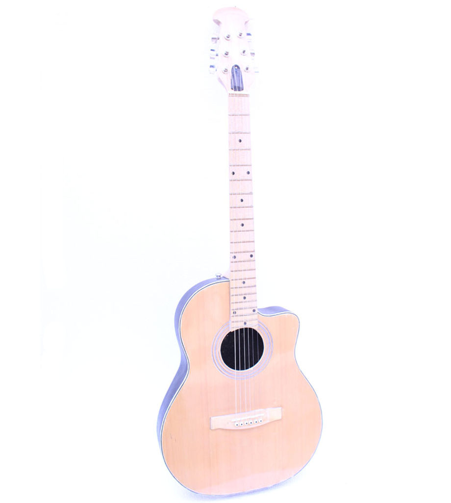 SG Musical Fiber Acoustic Guitar with Carry Bag, Strap,Plectrum (Buy One Get One Free)