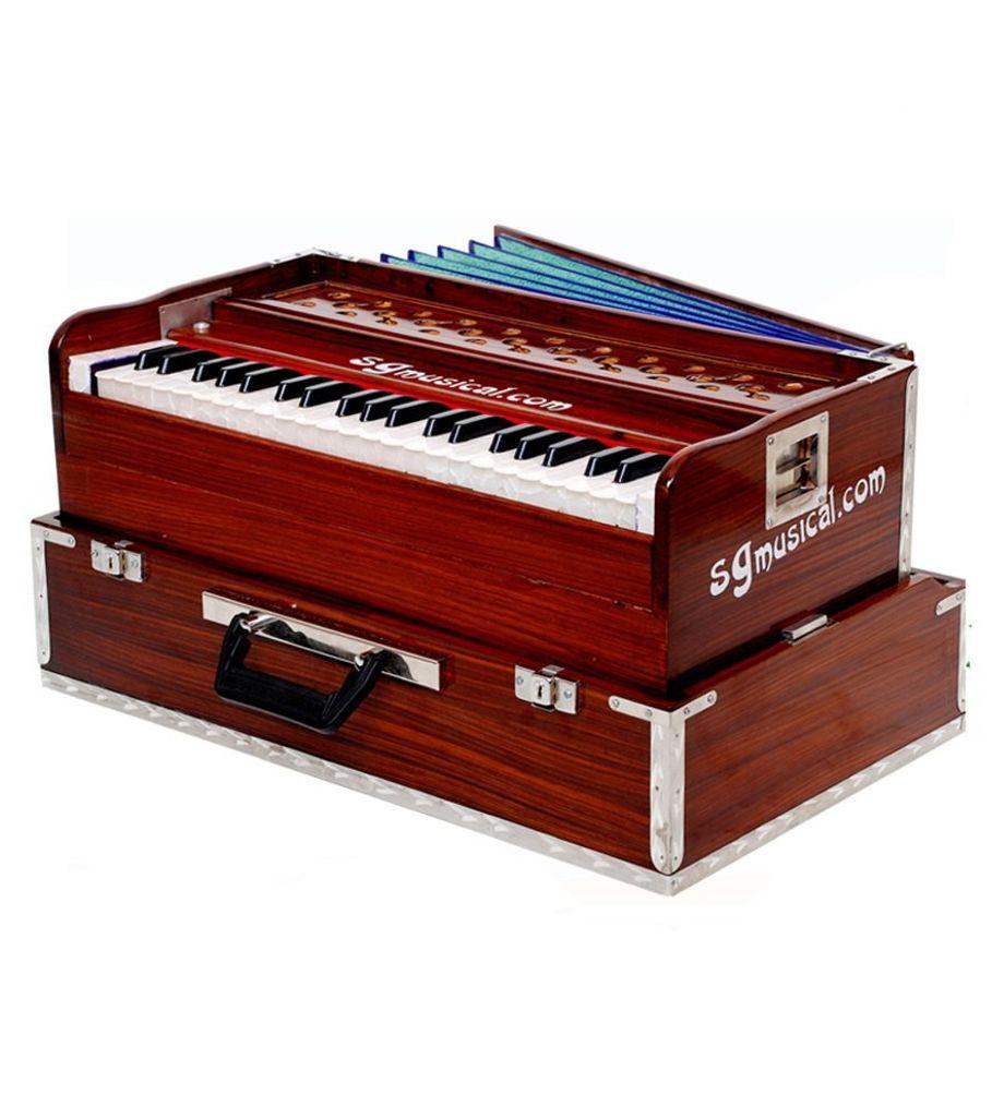 SG Musical Folding Harmonium,42 Keys Coupler Function
