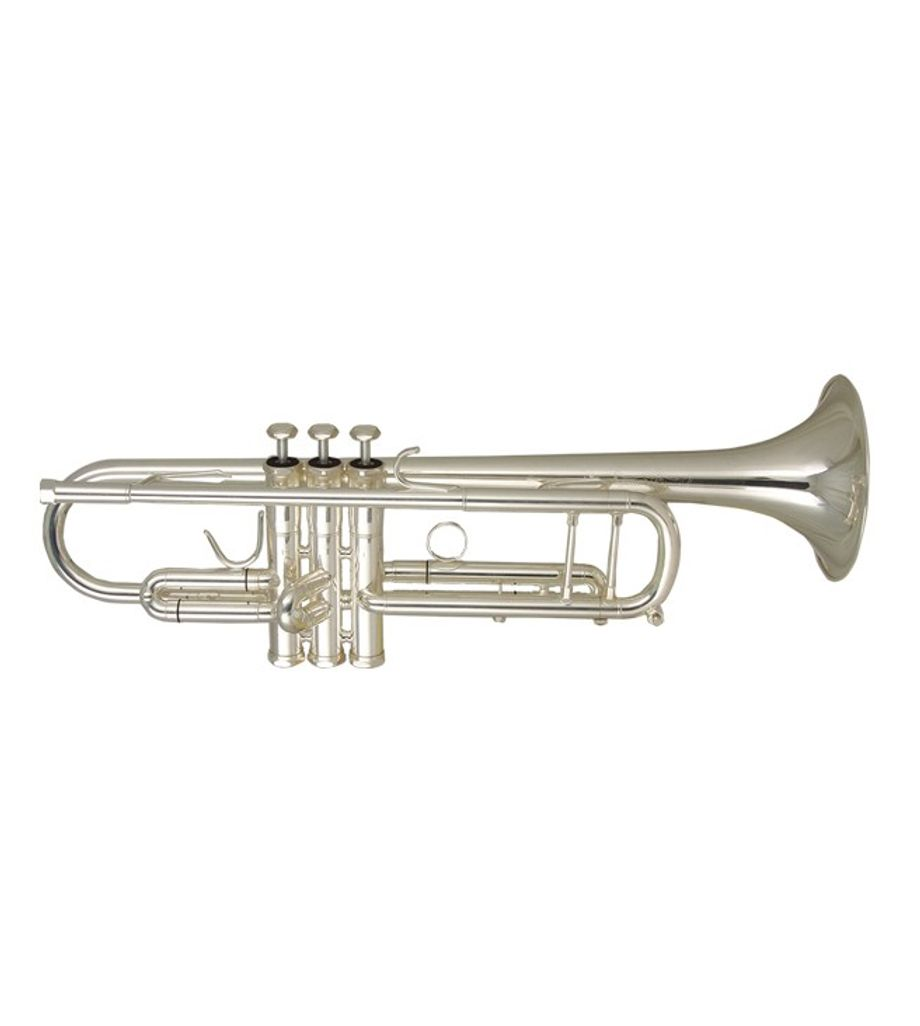 SG Musical Band Approved Silver Plated Brass Bb Trumpet @ Freebie