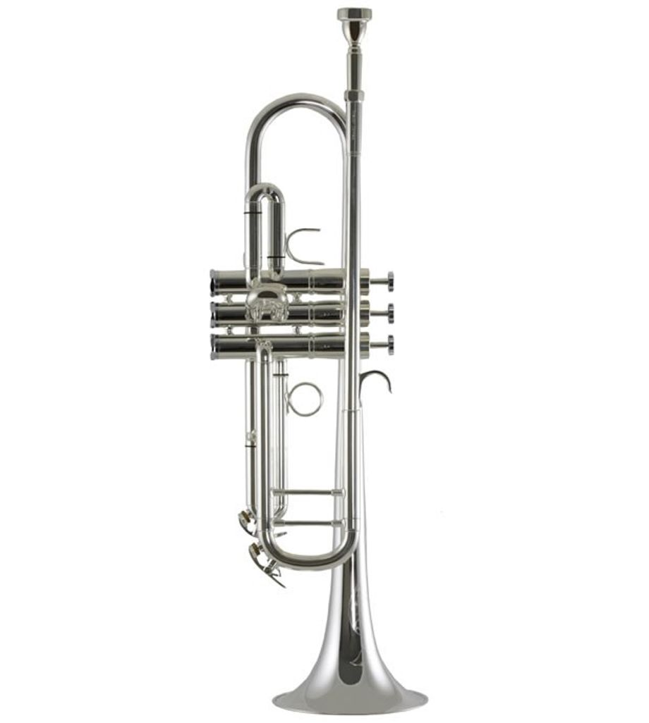 SG Musical Trumpet Pin - Nickel Silver Plated  Freebie