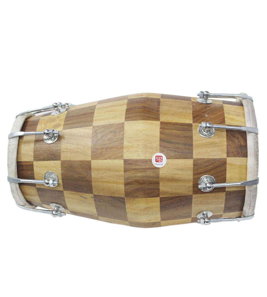 SG Musical Wooden Chess Professional Dholak