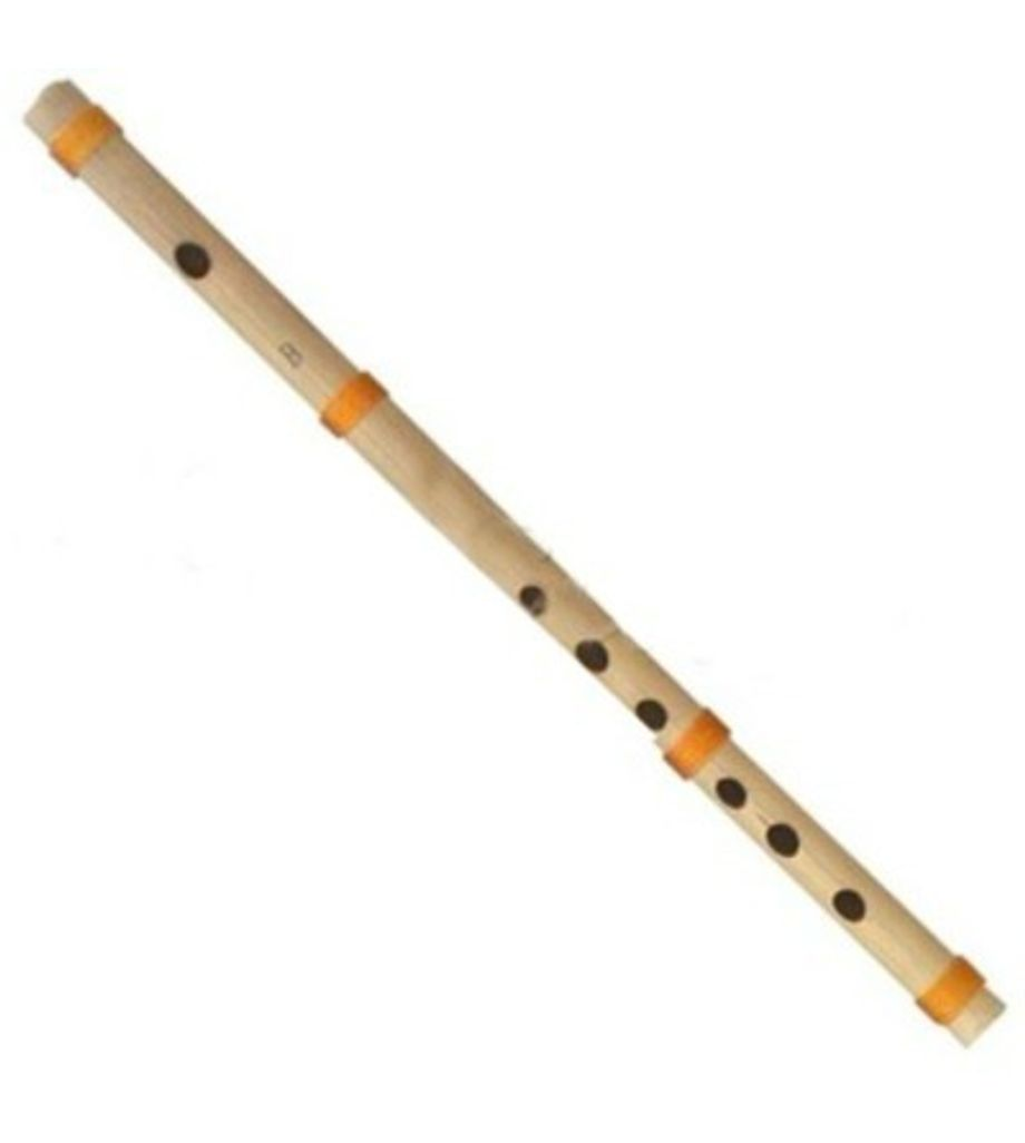 Sg Musical  Scale B Natural Medium 35 cm, Finest Indian Bansuri, Bamboo Flute
