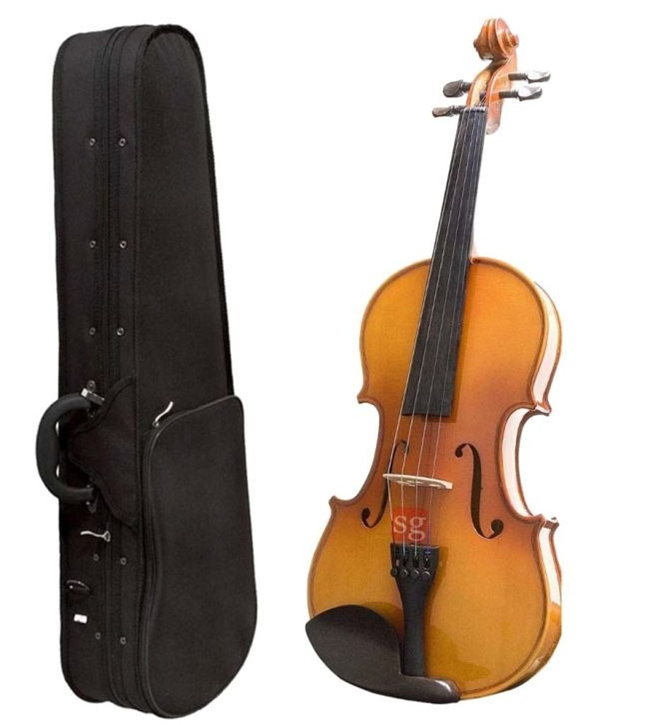 SG Musical Violin With Rosin, Bow And Case