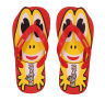 BAHAMAS RED KIDS CASUALS  SLIPPERS_BHK-11