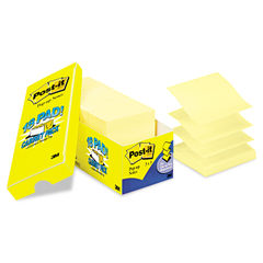 Post-it® Pop-up Notes Original Canary Yellow Pop-up Refill Thumbnail