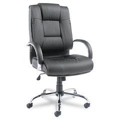 Alera® Ravino Big and Tall Series High-Back Swivel/Tilt Leather Chair Thumbnail