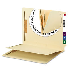 Smead® Fastener Folder with Divider Thumbnail