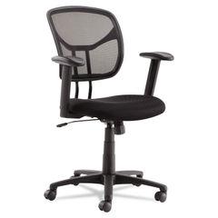 OIF Swivel/Tilt Mesh Task Chair with Adjustable Arms Thumbnail