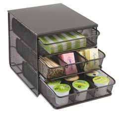 Safco® Onyx™ Three Drawer Hospitality Organizer Thumbnail