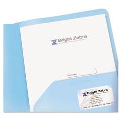 Avery® Translucent Two-Pocket Folder Thumbnail