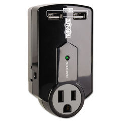 Tripp Lite Travel Surge with 2.1 Amp USB Charging Ports Thumbnail