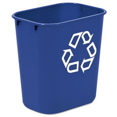 Rubbermaid® Commercial Deskside Recycling Container Thumbnail
