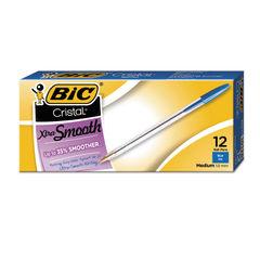 BIC® Cristal® Xtra Smooth Ballpoint Pen Thumbnail