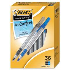 BIC® Round Stic Grip™ Xtra Comfort Ballpoint Pen Thumbnail