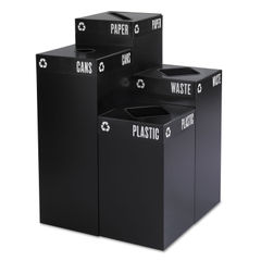 Safco® Public Square® Recycling Container Lid Thumbnail