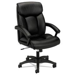 HON® VL151 Executive High-Back Leather Chair Thumbnail