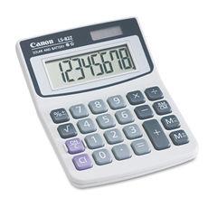 Canon® LS82Z Minidesk Calculator Thumbnail