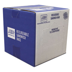 Handi-Bag® Recloseable Zipper Seal Sandwich Bags Thumbnail