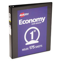 Avery® Economy View Binder with Round Rings Thumbnail