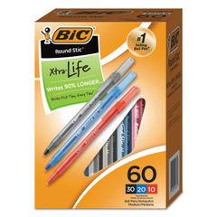 BIC® Round Stic™ Xtra Precision & Xtra Life Ballpoint Pens Thumbnail