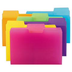 Smead® Top Tab Poly Colored File Folders Thumbnail
