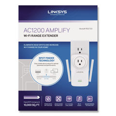 LINKSYS™ AC1200 AMPLIFY Dual-Band WiFi Extender Thumbnail