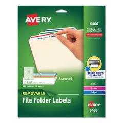Avery® Removable File Folder Labels Thumbnail