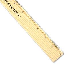 "Westcott® Budget 12"" Metric Ruler Thumbnail"
