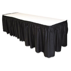 Tablemate® Table Set® Linen-Like Table Skirting Thumbnail