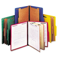 Universal® Bright Colored Pressboard Classification Folders Thumbnail