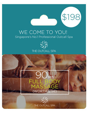 Body Massage Voucher Singapore