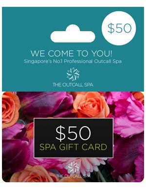 Spa Gift Card Singapore