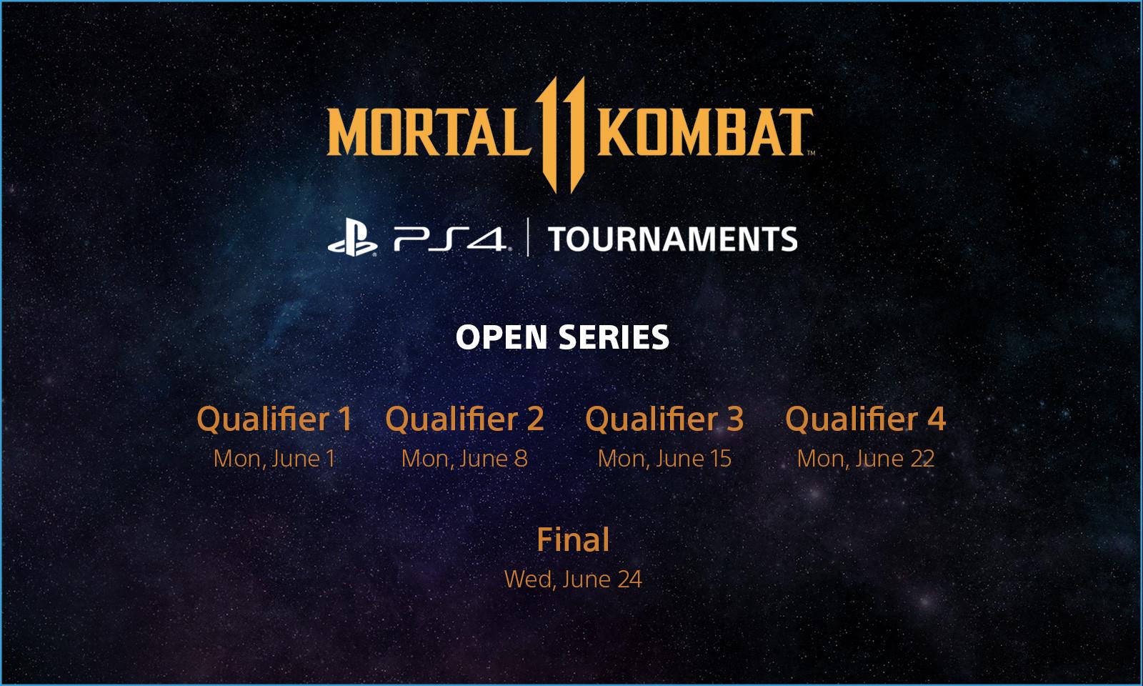 MK11 Open Series June Schedule