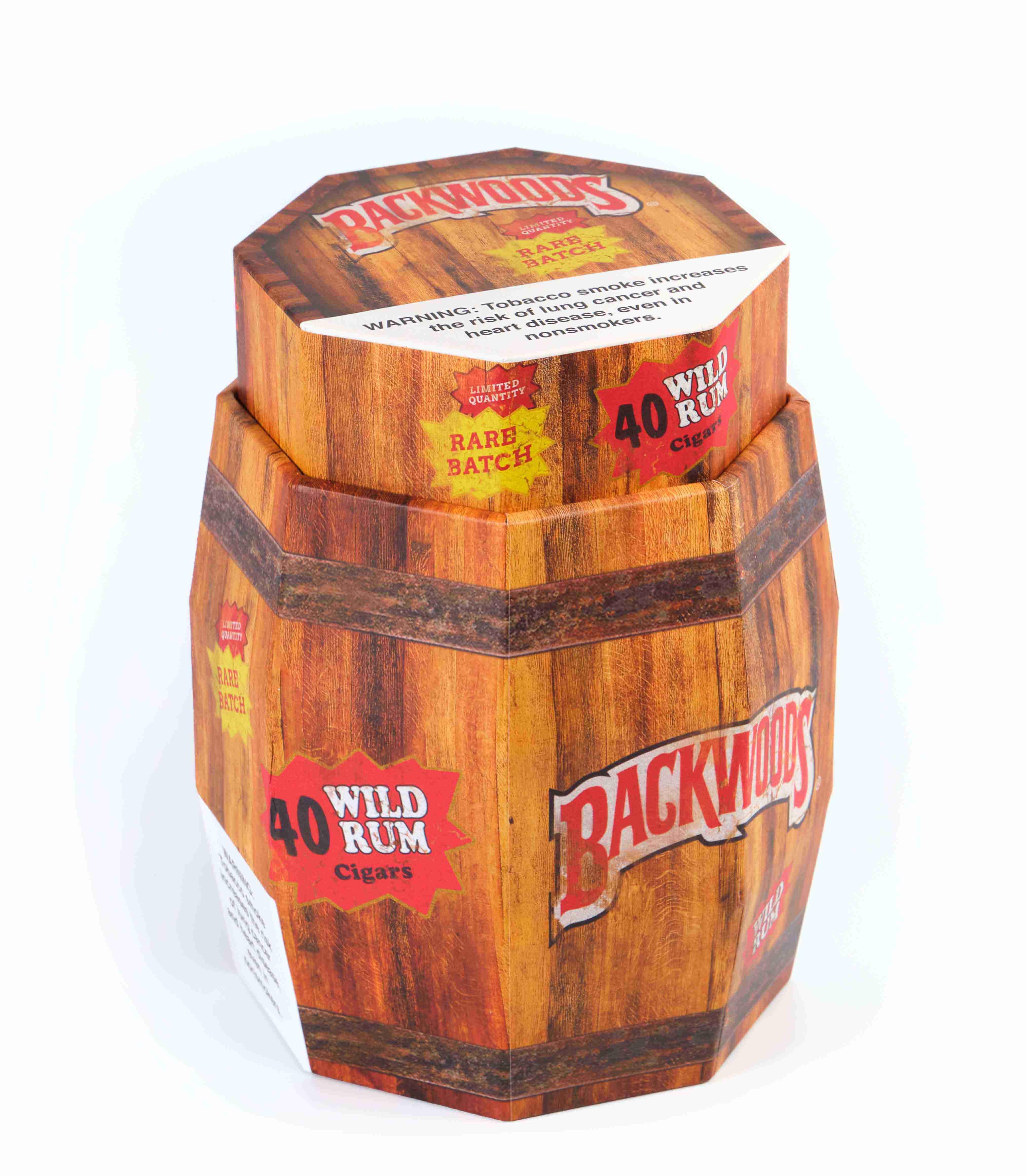 Backwoods wild Rum Barrel