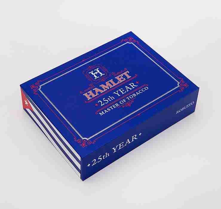 Hamlet Robusto Cigar Box